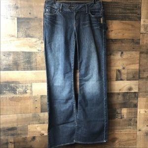 Silver Jeans Dark Wash Tina Bootcut Jeans